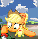 is this a apple? AppleJack in MS-Paint