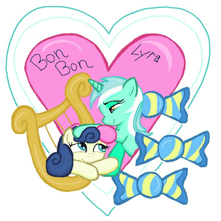 Lyra Bon Bon in MS-Paint