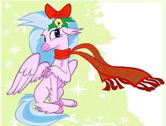 Silver stream Merry christmas in MS-Paint by sallycars