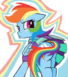 What a you LOOK Rainbowdash in MS-Paint