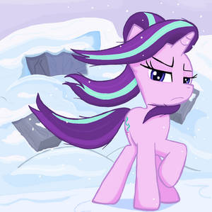Starlight glimmer it is not over in Ms-paint