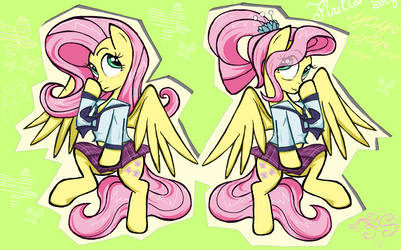 Fluttershy (s) in Ms-Piant