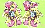 Fluttershy (s) in Ms-Piant by sallycars