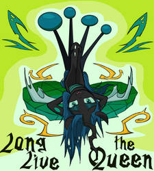Queen Chrysalis in MS-paint
