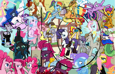 10 year My Little Pony Friendship is Magic MSPaint