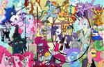 10 year My Little Pony Friendship is Magic MSPaint by sallycars