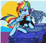 Rainbow dash DAY 2021 in MS-Paint
