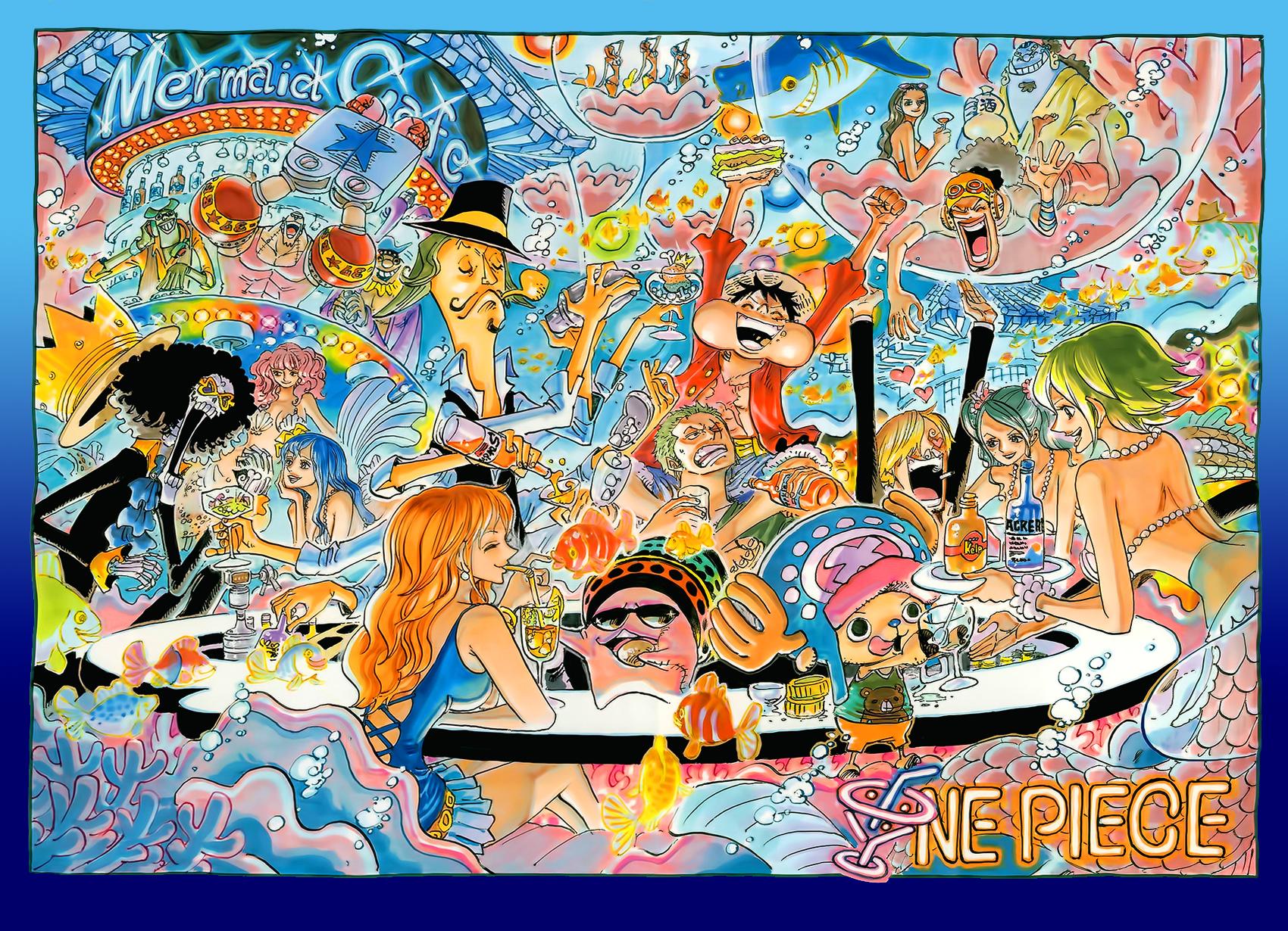 One Piece Colorspread Chapter 724 by StarDrummer on DeviantArt