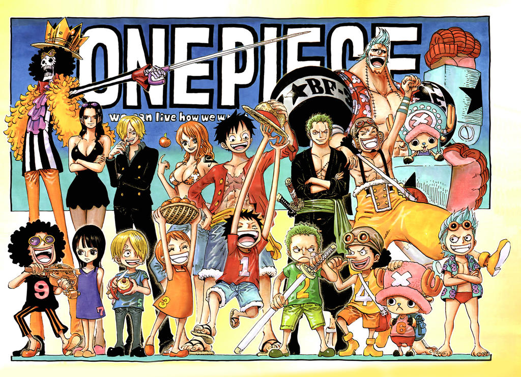 Colorspread One Piece chapter 726 by StarDrummer
