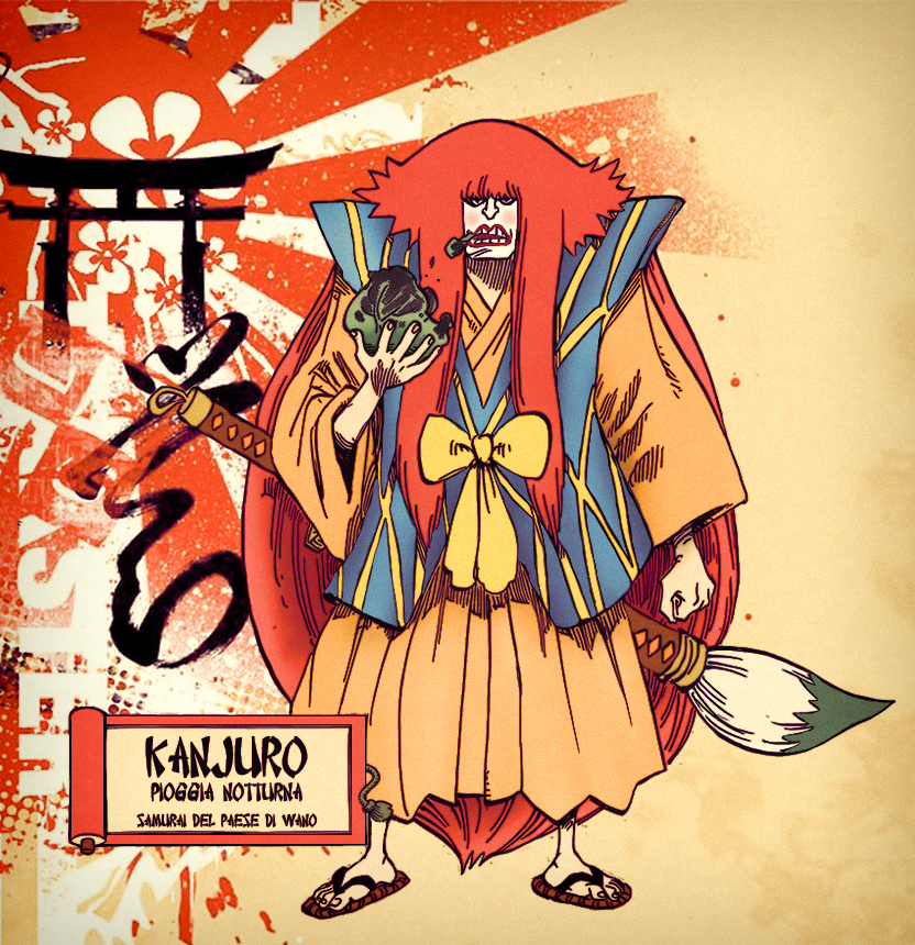 Kanjuro, from Wako Country by StarDrummer