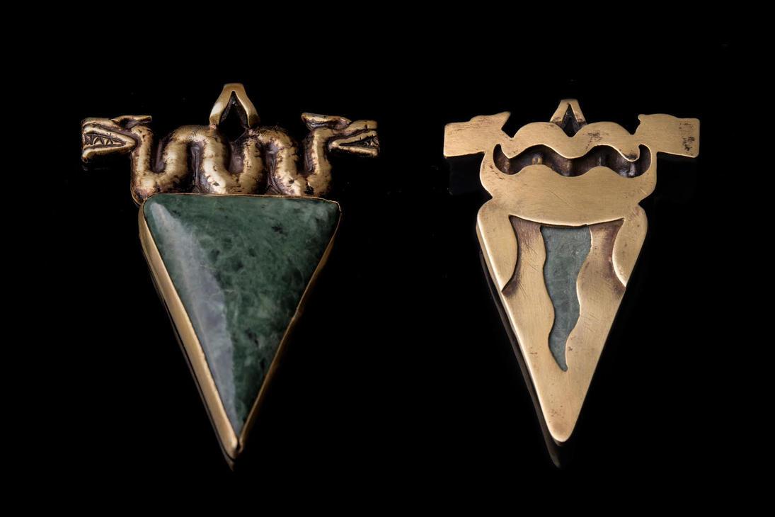 Mayan pendant by ThorvaldLodz
