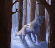 Winter Silence by C3lestialWolf