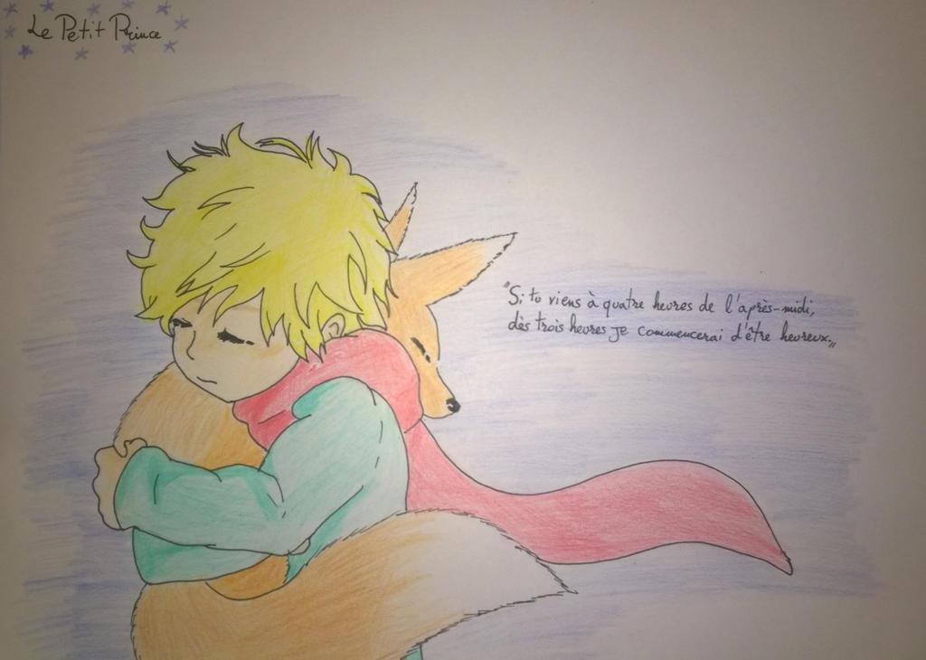 Le Petit Prince et le Renard by MarieForfait on DeviantArt