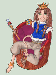 Queen Of Settetania by Zlukaka