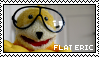flat eric stamp by kinglysSTAMPS