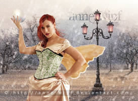 A fairy in winter by annewipf