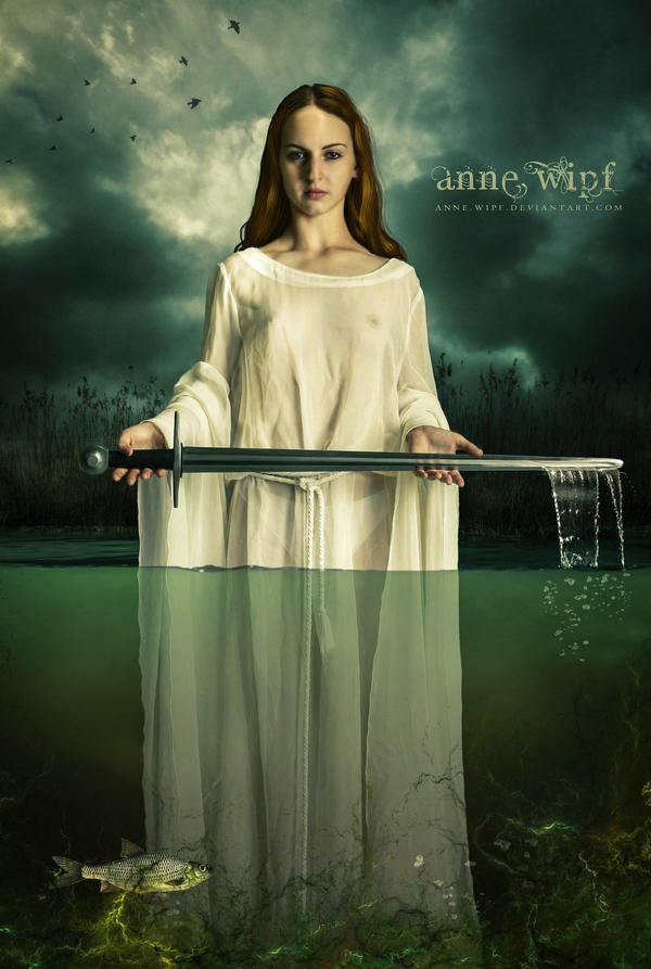 Vivian, the Lady of the Lake by annewipf