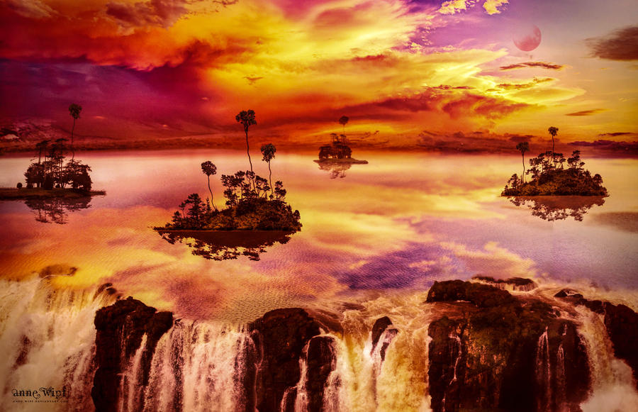 The lake by SignHermitCrab