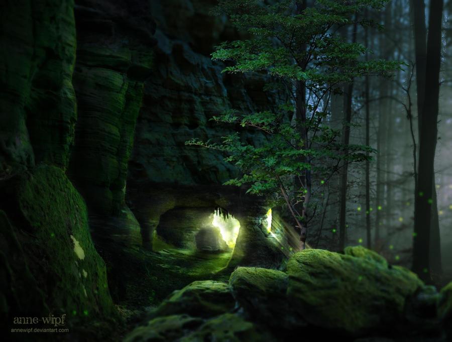 Emerald Woods by annewipf