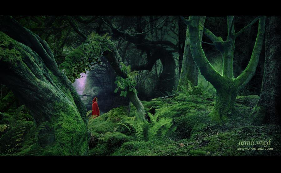 Little Red Riding Hood by annewipf