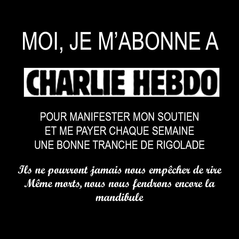 Charlie-Hebdo by annewipf