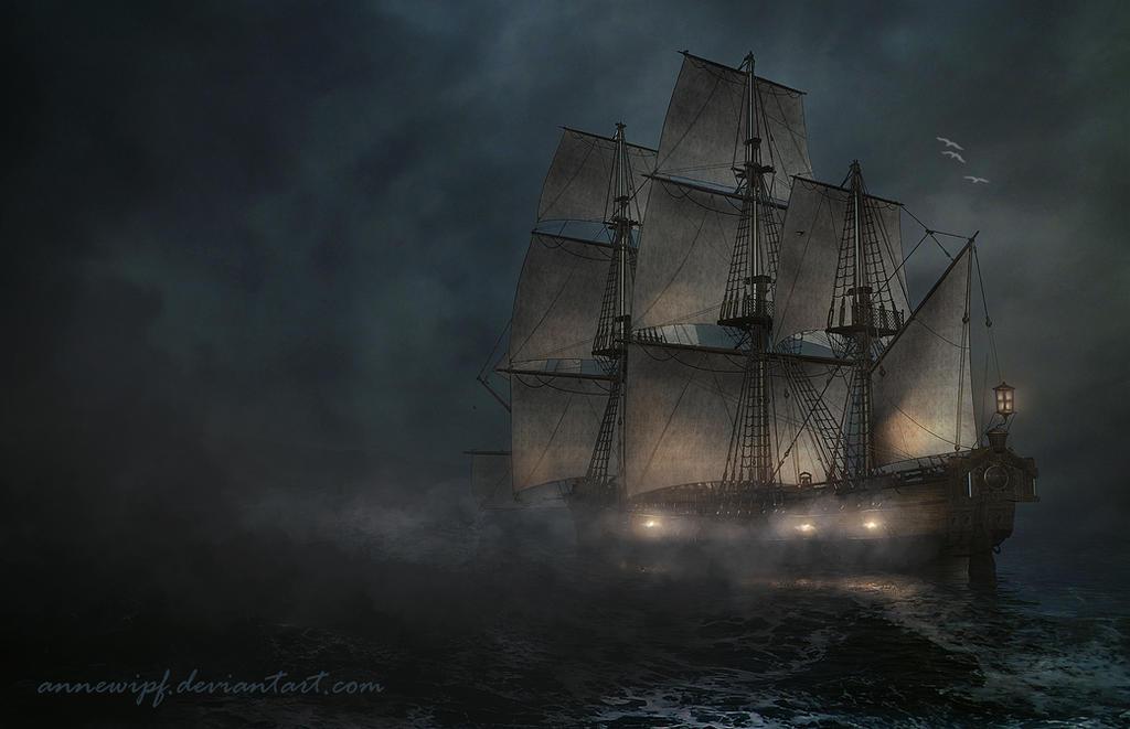 Sea Battle by annewipf