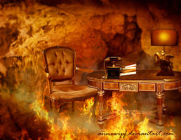 Devil's Office by annewipf
