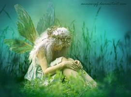 Fairy in the Grass