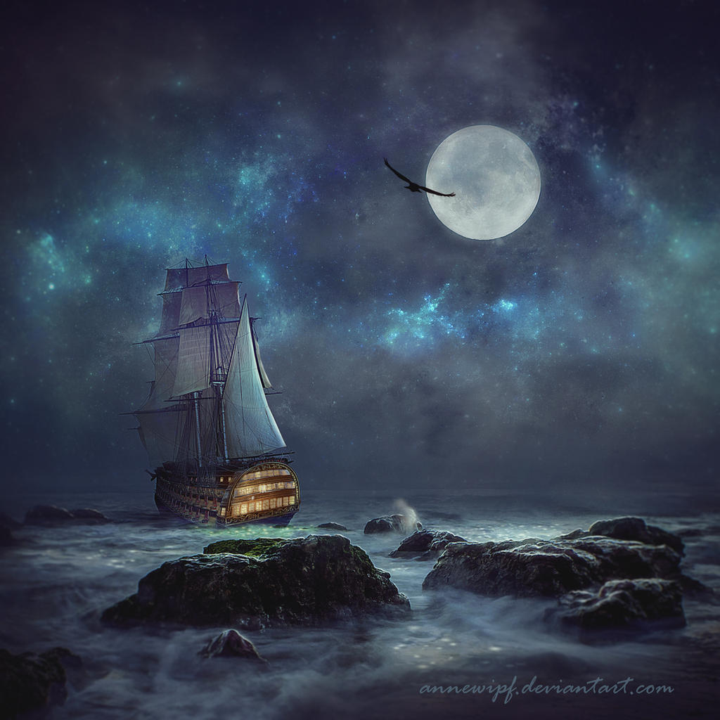 Moonlight Dream 2 By Annewipf On Deviantart