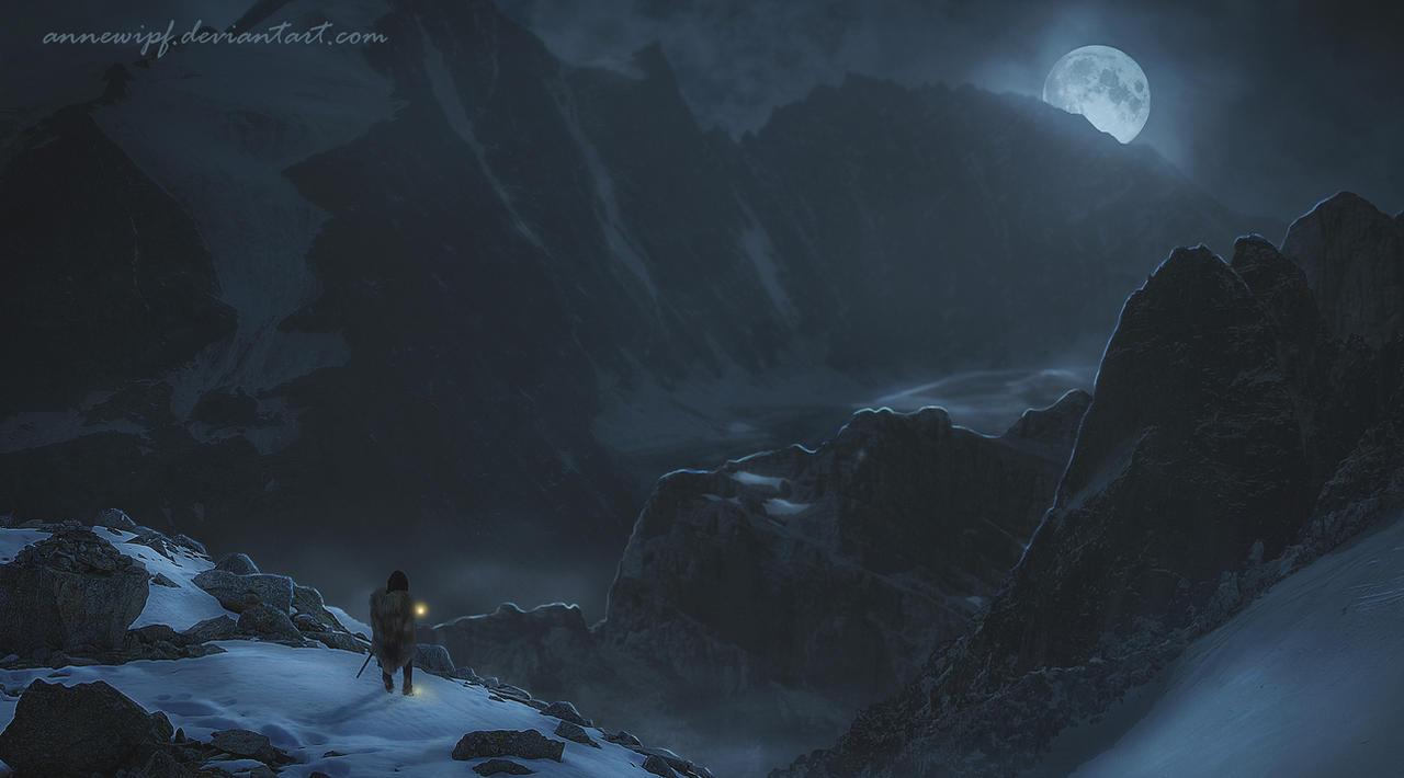 Under the Moon by annewipf