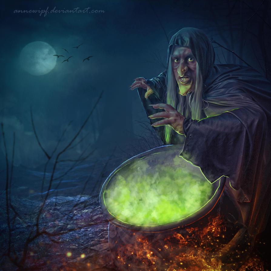 Witch by annewipf