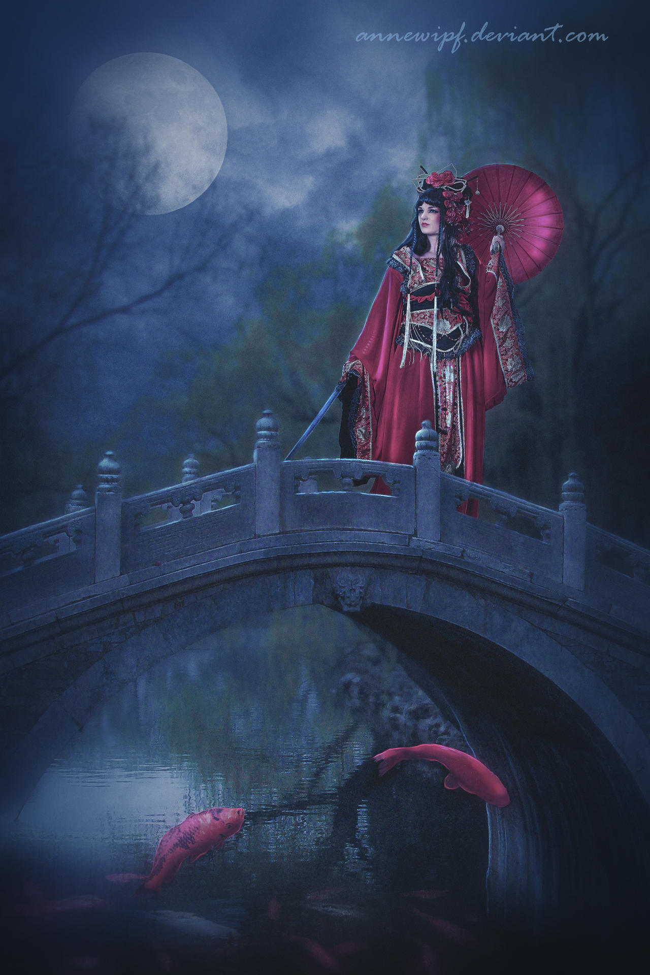 Geisha by annewipf