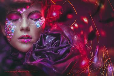 Purple Jewels by annewipf