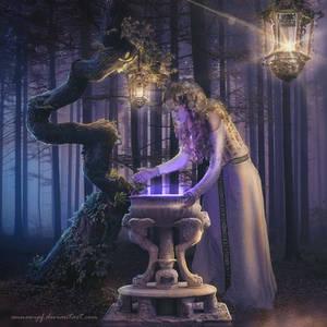When Darkness falls, Magic appears by annewipf