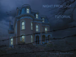Night from day Tutorial for Psd by annewipf