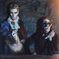 Portrait of Vampires by annewipf
