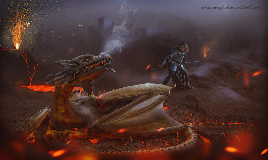 Fire and Armor by annewipf