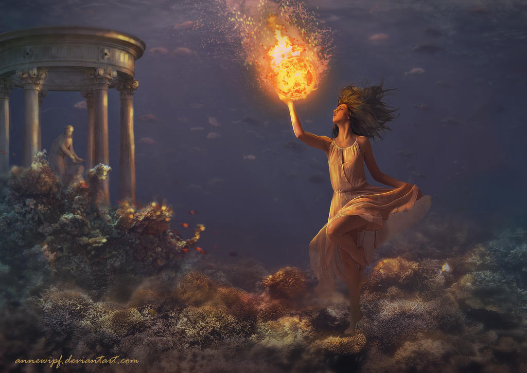 Tethys collecting the sun (2) by annewipf