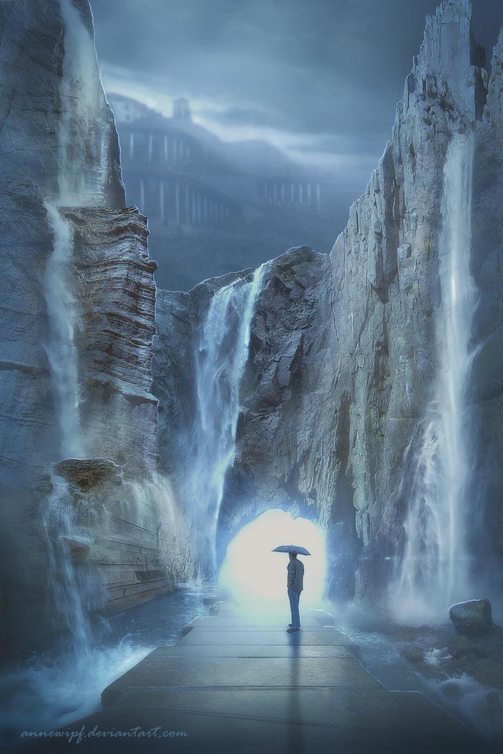 Waterfalls  Door by annewipf