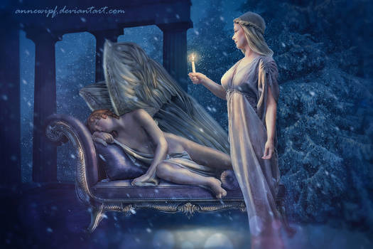 Cupid and Psyche by annewipf