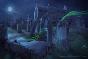 Cemetery by annewipf