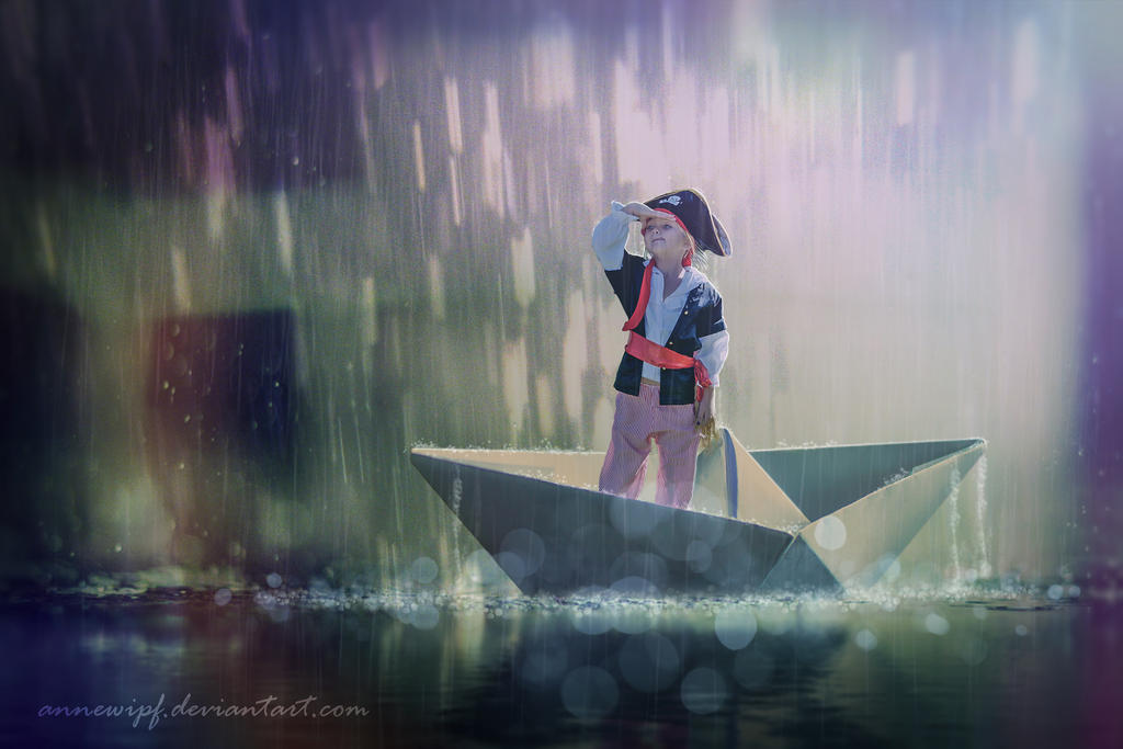 Paperboat by annewipf