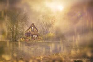 Golden Rain by annewipf