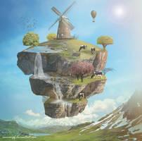 Floating Island by annewipf