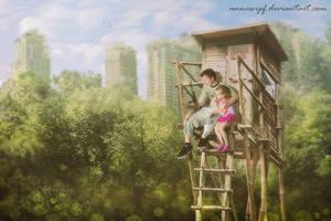 Post Apocalypse Children by annewipf