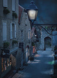 Wizards Street by annewipf