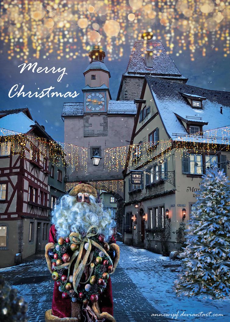 Christmas Magic by annewipf