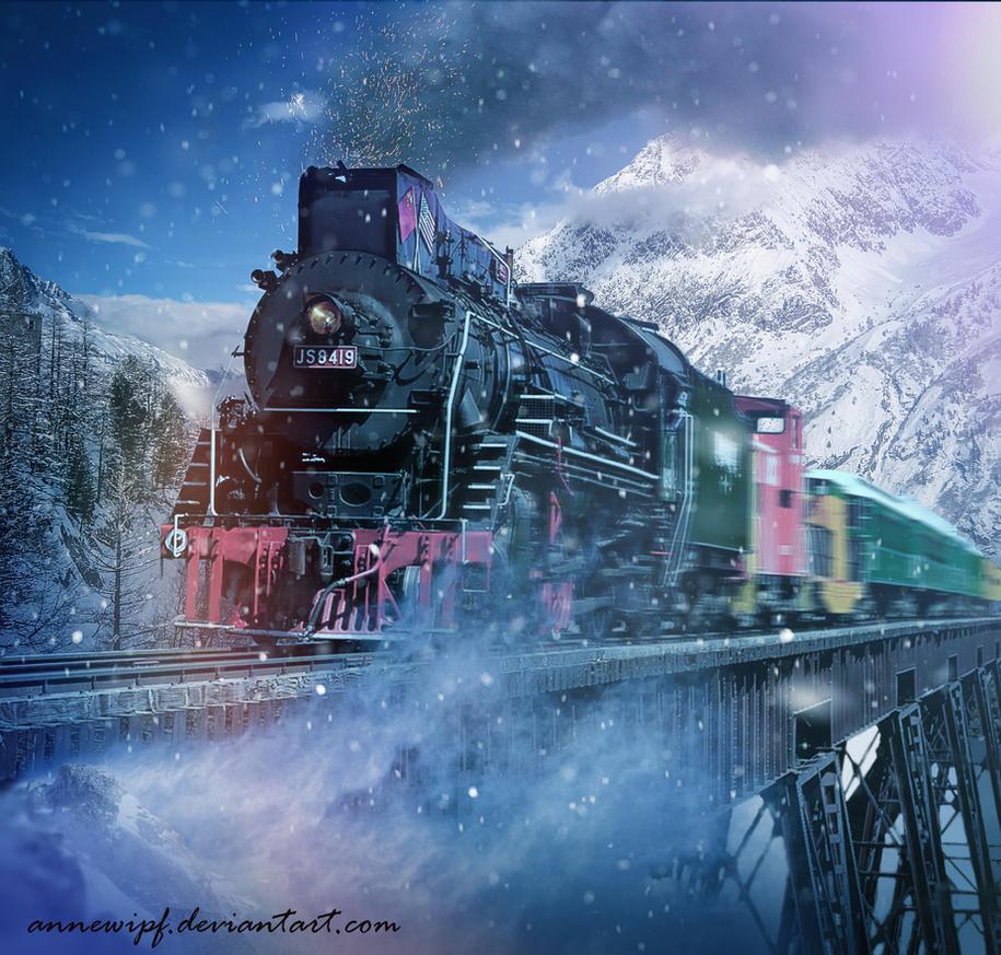 Hogwarts Express by annewipf