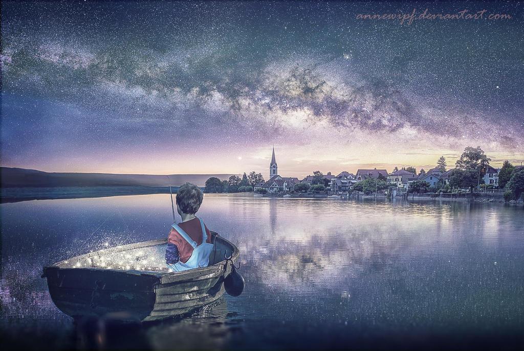 Stars Fisherman by annewipf