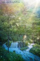 Hidden Fountain by annewipf